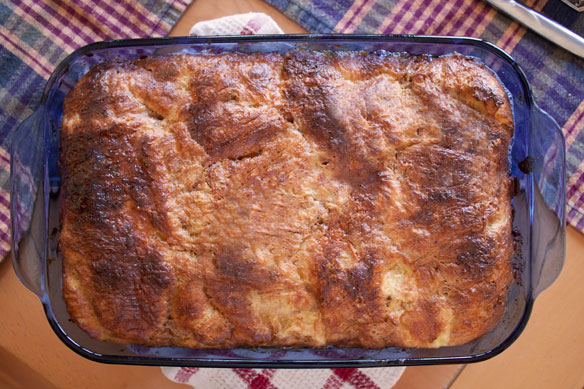 Very French Baked French Toast & Roasted Pineapple - With The Grains