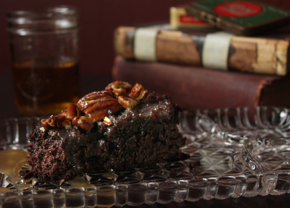 Chocolate Cherry Cake With Scotch Amp Smoked Sea Salt